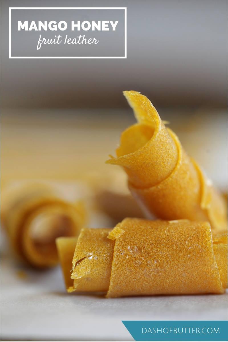 Mango Honey Fruit Leather